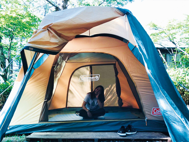 ちょっぴりサバイバル感を味わえるキャンプにハマっています。<br /> 自然豊かなキャンプ場でバーベキューをしながら、友人と何気ない会話を交わすことで心が癒されます。<br />