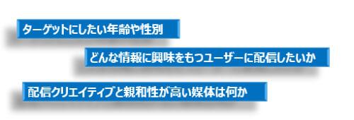 B2B SNS広告 ペルソナ