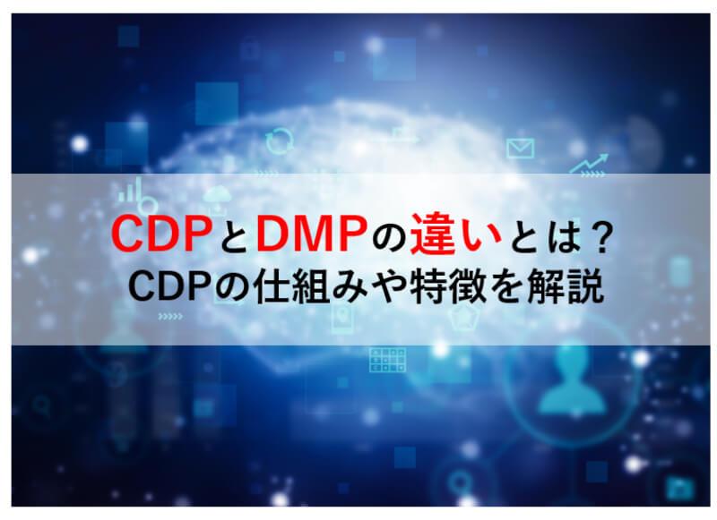 CDP DMP 違い